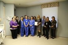 St. Luke's HRSA Workplace Partnership for Life Platinum Award Recognition